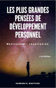 Les Plus Grandes Pensées de Développement Personnel