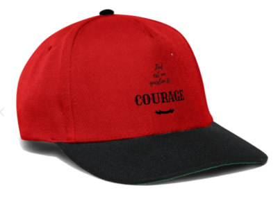Casquette_Courage_rouge